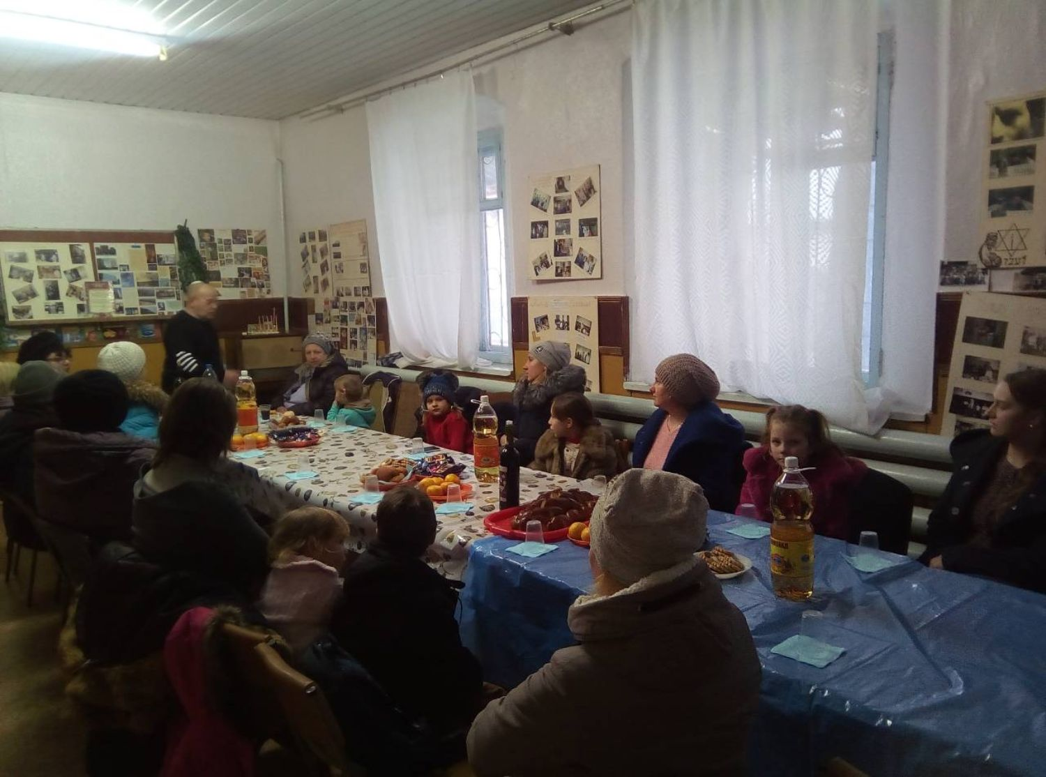Zvenigorodka Jewish community celebrates Chanuka, 2018