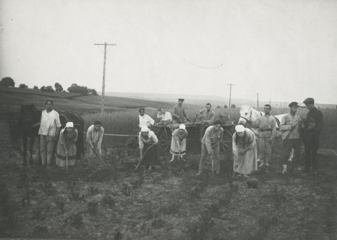 Jewish collective farm in Tarashcha. Photo from JOINT archive