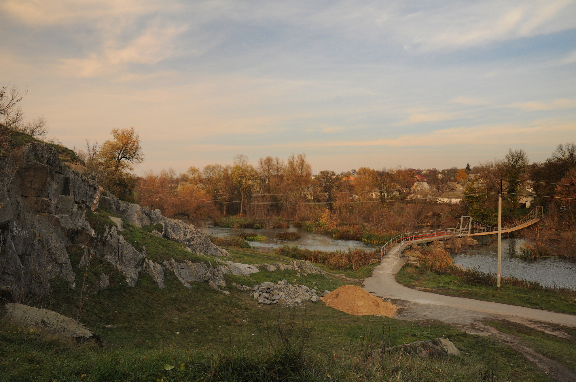 River Gniliy Tikich in Zvenigorodka