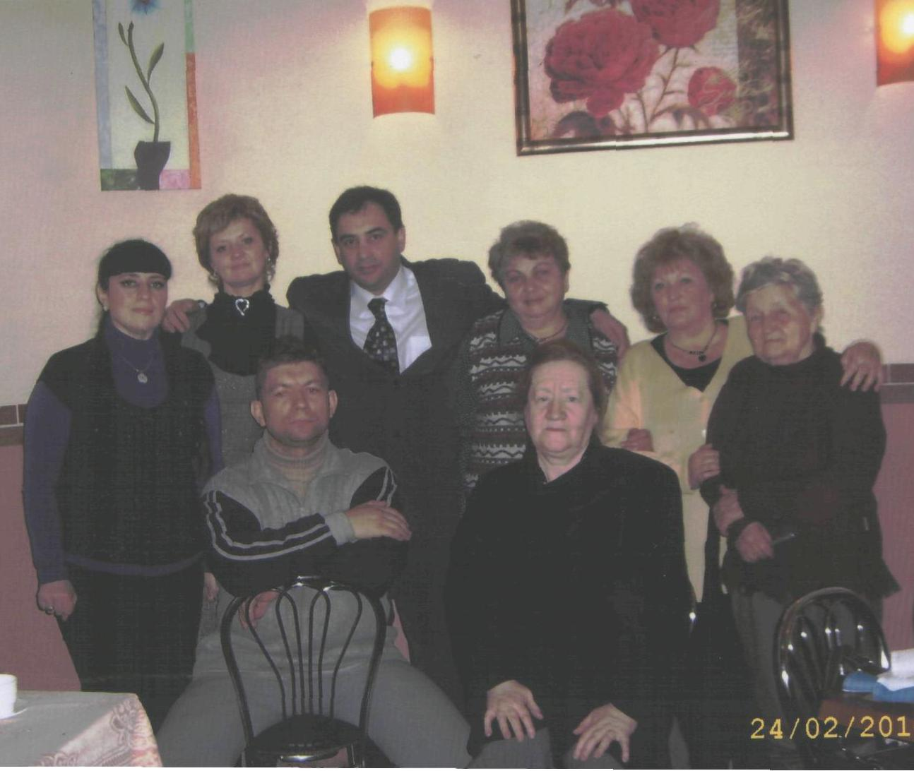 Members of Ivankov Jewosh community in 2000's