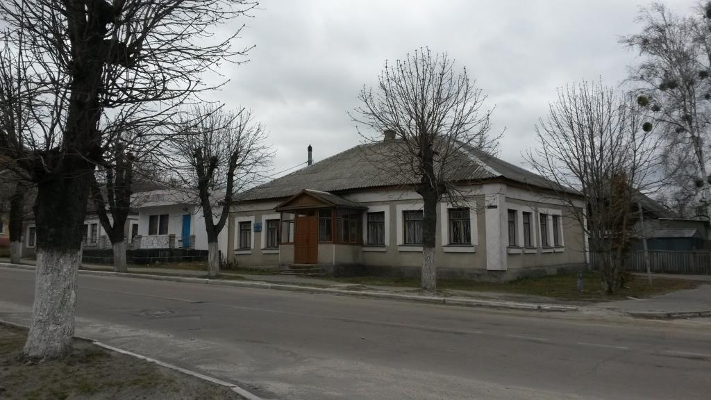 Old PreRevolution house in the center of Ivankov near site of synagogues