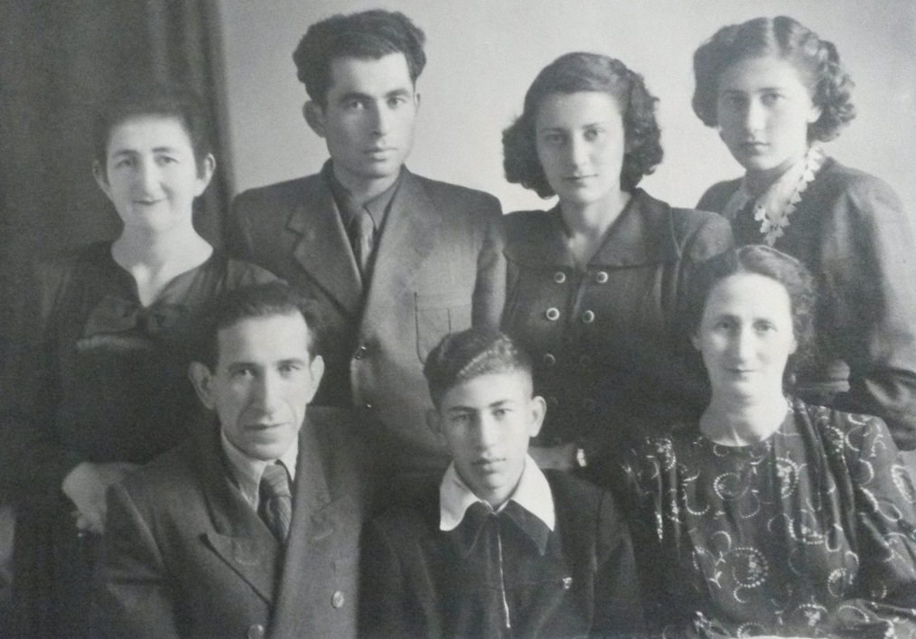 Rogal family in Korostyshev, 1953