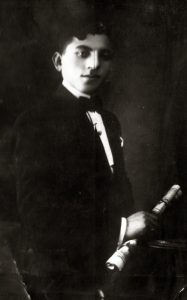 Shulim Manilov (1877-1970). Photo was made in Yagotyn, 1900
