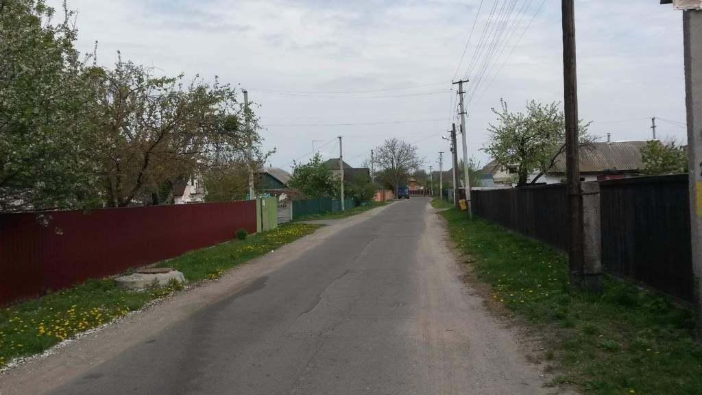 PreRevolution Jewish neighborhood in Makarov, 2017