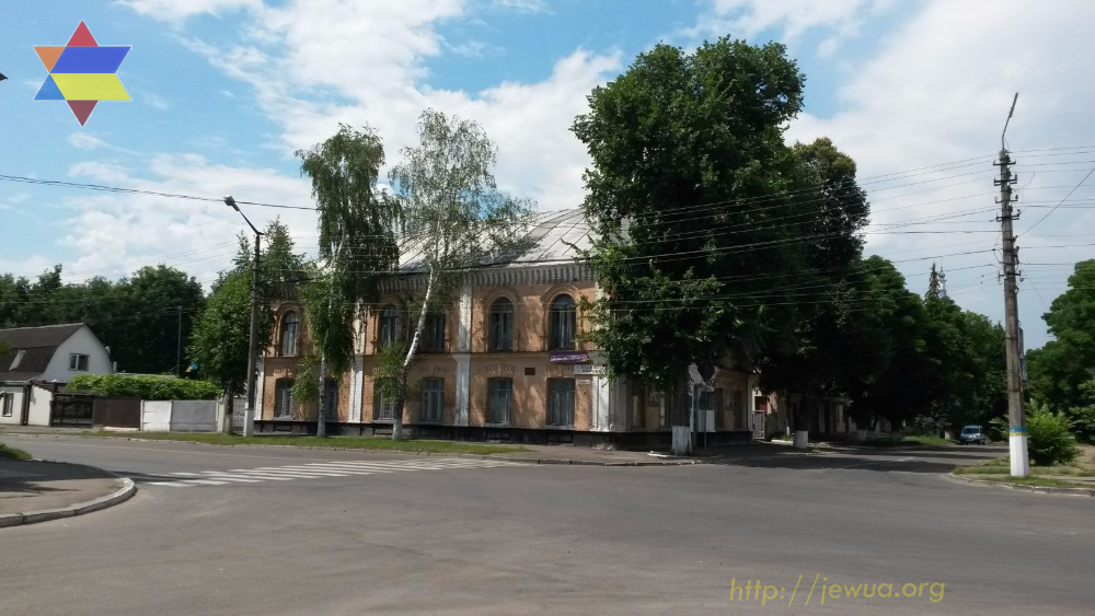 Building of the Big Synagogue in Pereyaslav