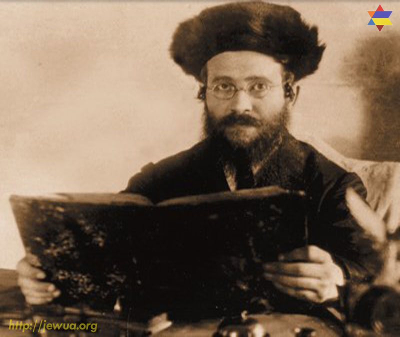 Admor of Khotin - Rabbi Mordekhai Israel Tversky. He was killed in 1941
