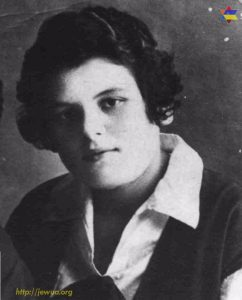 Liza Shkurovich, killed in Babiy Yar
