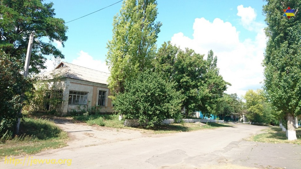 Center of the village is full of abandoned buildings. Former shtetl is slowly ...