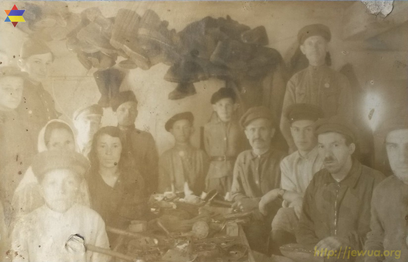 Jews in Norinsk after the WWII, end of 1940's