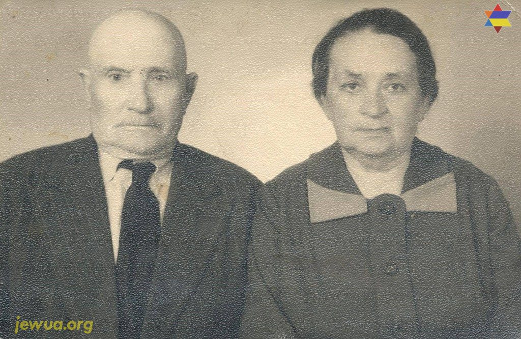 Family Freilaichman's in Olevsk, end of 1960's