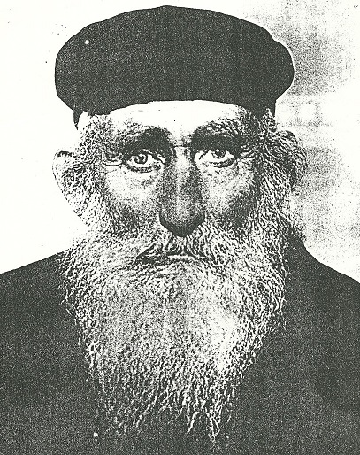 Nuchim Krasnyanskiy, grandfather of Dmitriy Margulis. Rizhanovka, beginning of XX century