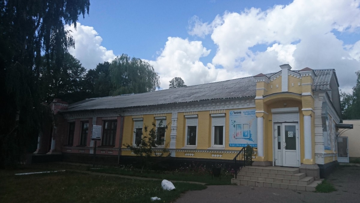 Old PreRevolution building in Kamenka
