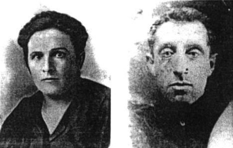 Father and mother of Mark Meshok, which were killed in Puliny