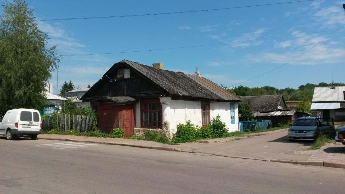 Former Jewish house in the centre of Khoroshev