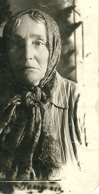 Local Jewish woman Ester Gershovna Milis (Zilberman) (1881-1939). Photo provided by Vlad Etinger