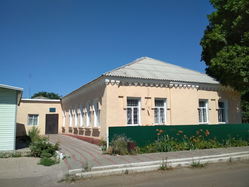 Former synagogue in Krivoye Ozero